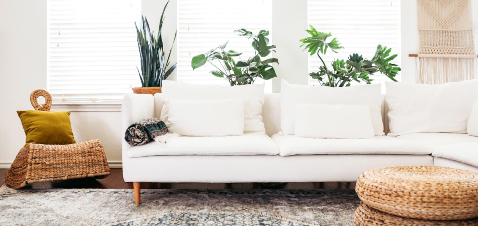 Musterring Sofabezug weiss Baumwolle
