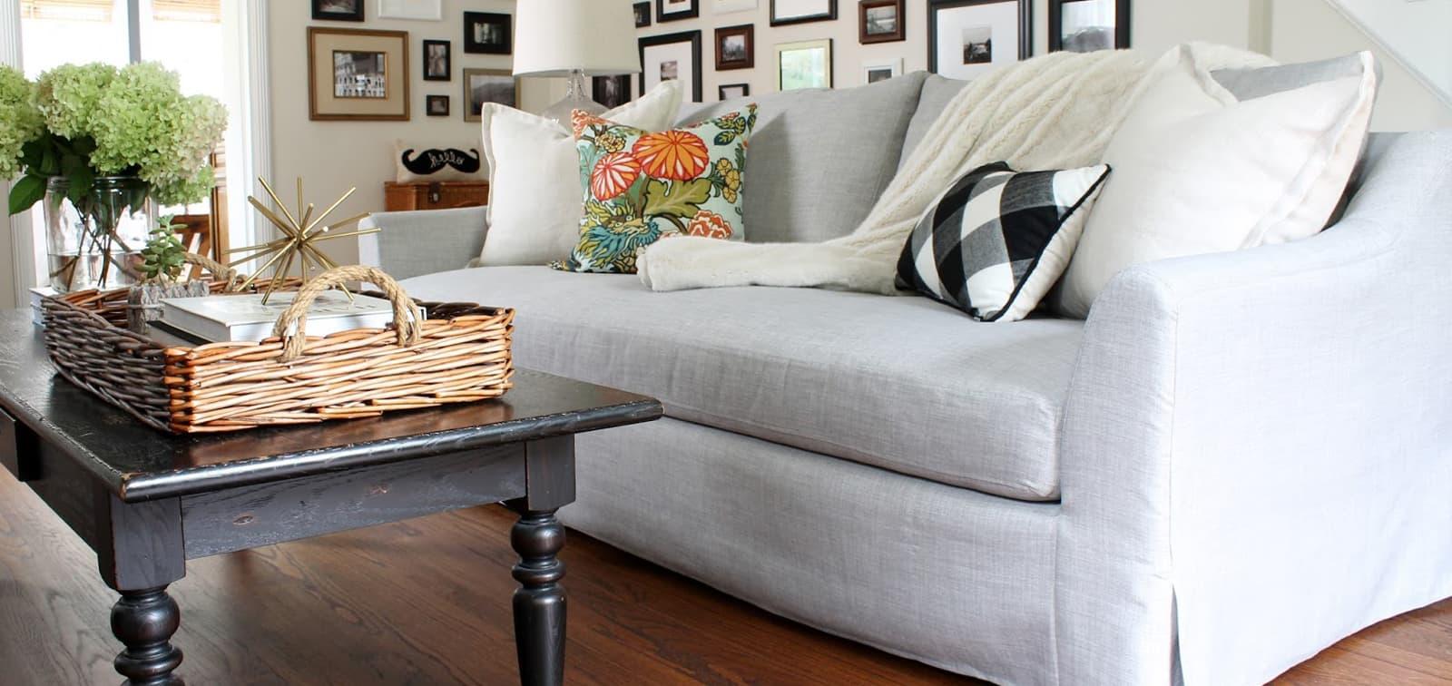 Hülsta Sofabezug Eckfalten