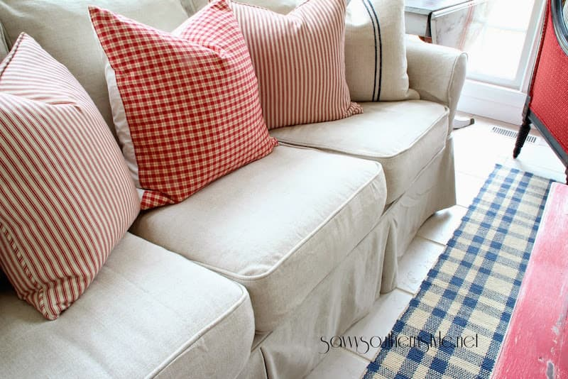 PB Basic Sleeper Sofa Slipcover