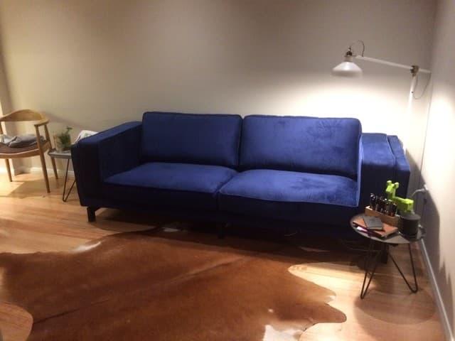 Nockeby 3 Seater Sofa Cover Comfort Works Custom Slipcovers