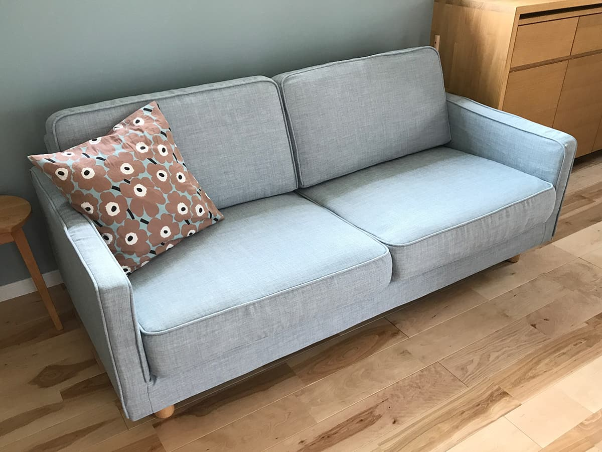 2 Seater Slim Arm Sofa Cover