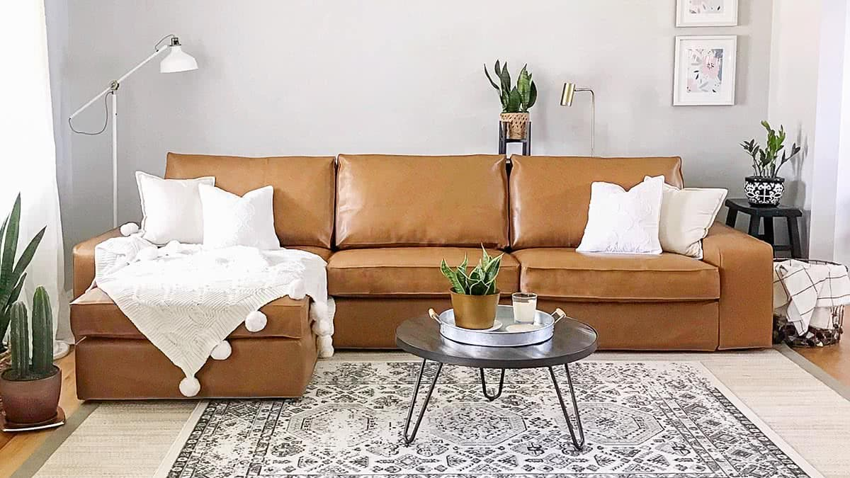 Kivik Leather Cover Best Home Decorating Ideas