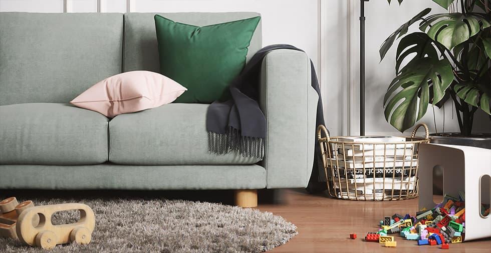 Cooper Wooden Sofa Leg Comfort Works