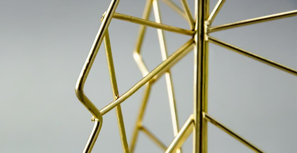 Wire Frame Christmas Tree