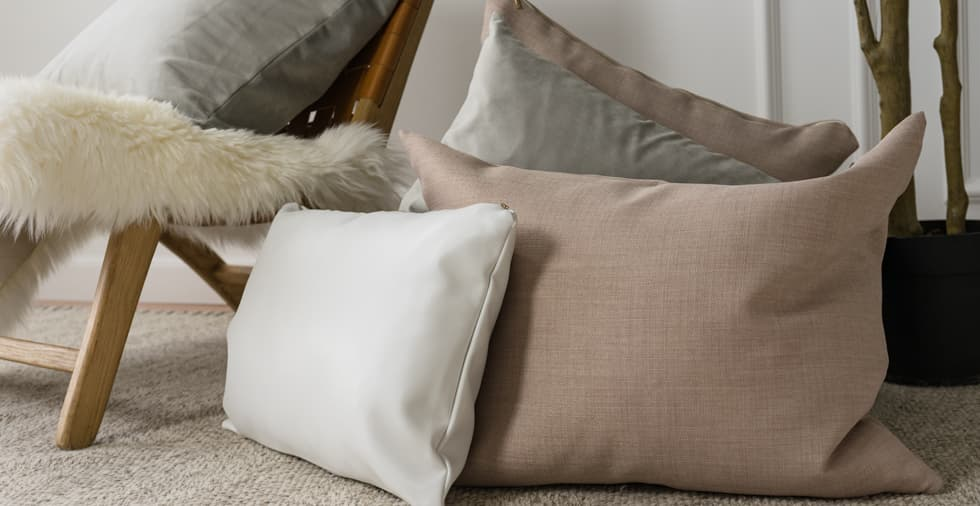 Set of 3, Quiet Dawn Cushion Covers