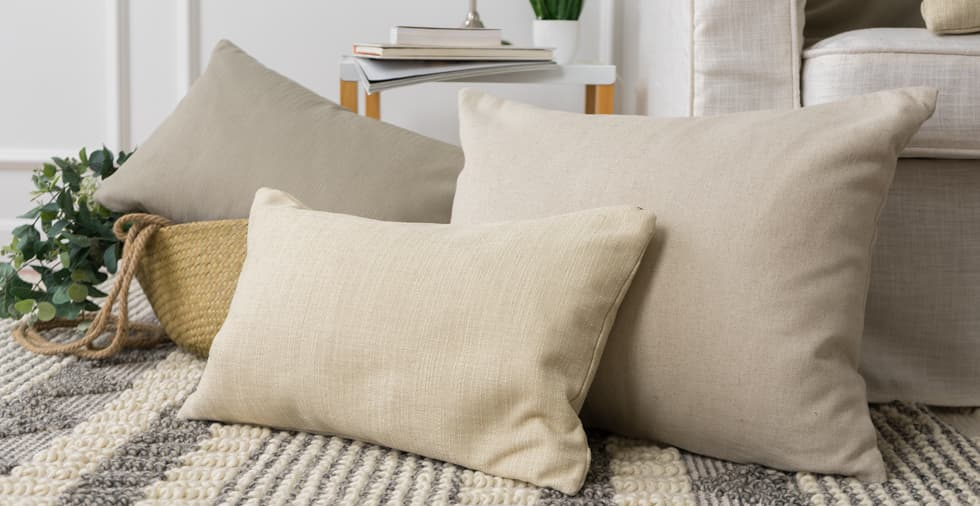 Set of 3, Warm Thoughts Cushion Covers