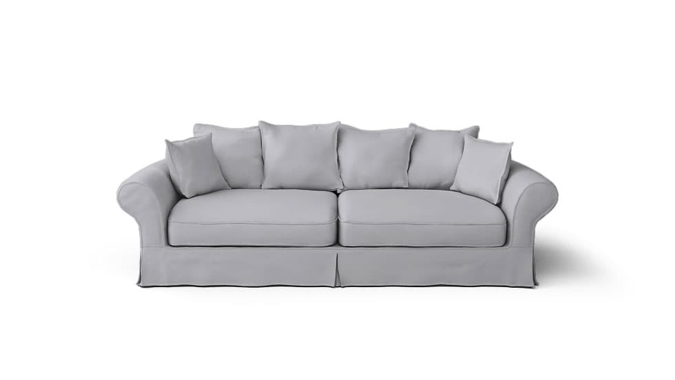 Replacement ikea sofa covers for the discontinued backamo sofa for Ikea sofa slipcovers discontinued