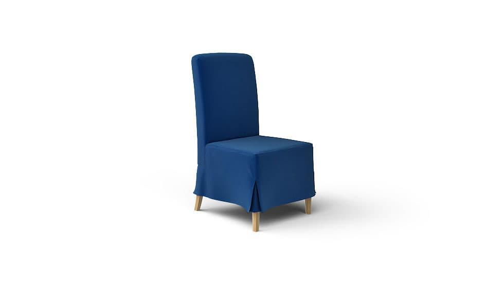 IKEA Henriksdal Stuhlbezug Rouge Indigo Samt