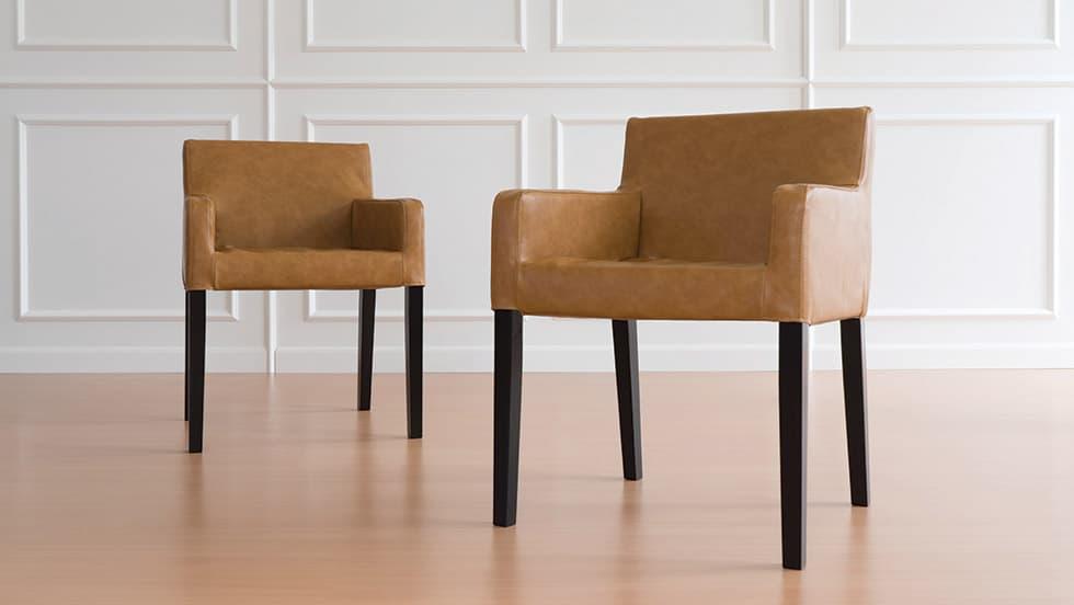 IKEA Nils Stuhlbezug Savannah Saddle Kunstleder