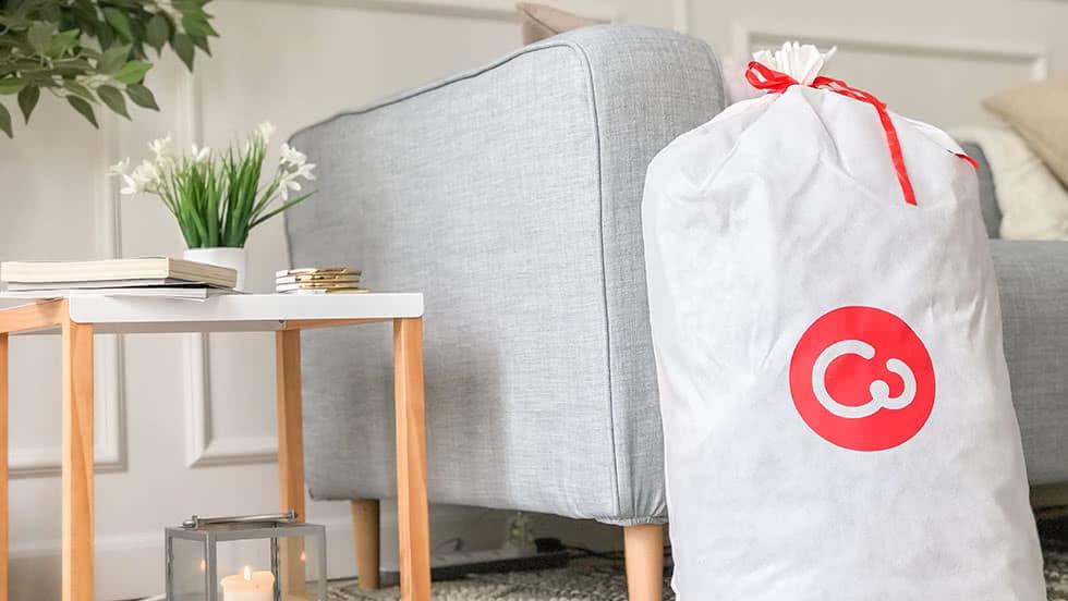 IKEA Karlstad 3er Sofa CW Tasche