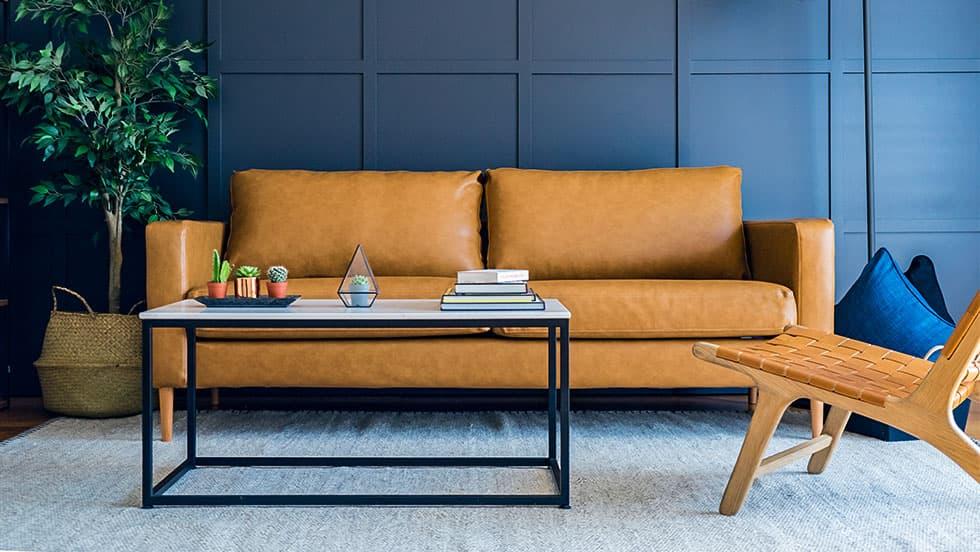 IKEAオーダーソファカバー | 古くなったソファを新たなカバーで救済
