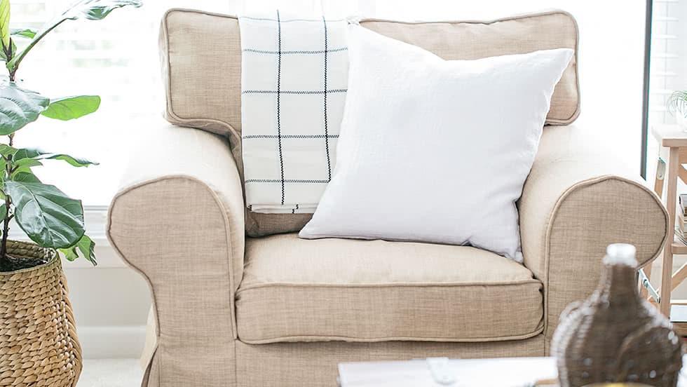 IKEA Ektorp Sesselbezug aus Kino Khaki