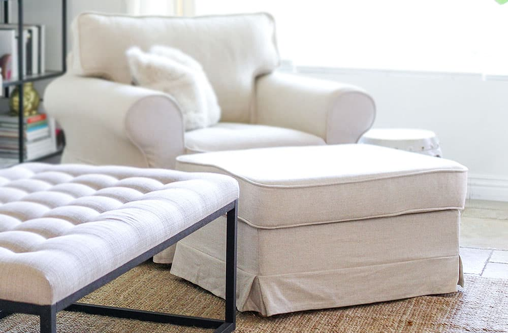 ikea hockerbezug sch ne ma geschneiderte bez ge. Black Bedroom Furniture Sets. Home Design Ideas