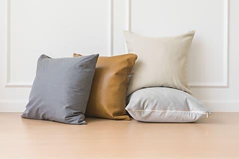 正方形クッション、枕カバー