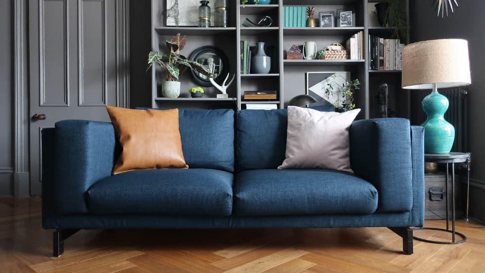 IKEA Nockeby Sofa Covers Kino Denim Heavy Duty Couch Slipcover