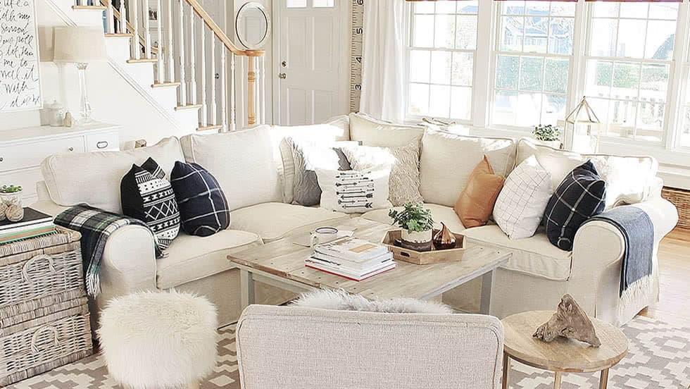 Housse pour le canapé d'angle IKEA