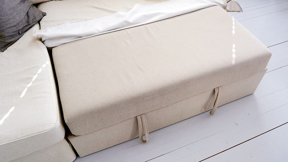 IKEA Sofa Bed Covers Fagelbo Left Sofa Covers Liege Biscuit Linen Blends Couch Slipcover 3