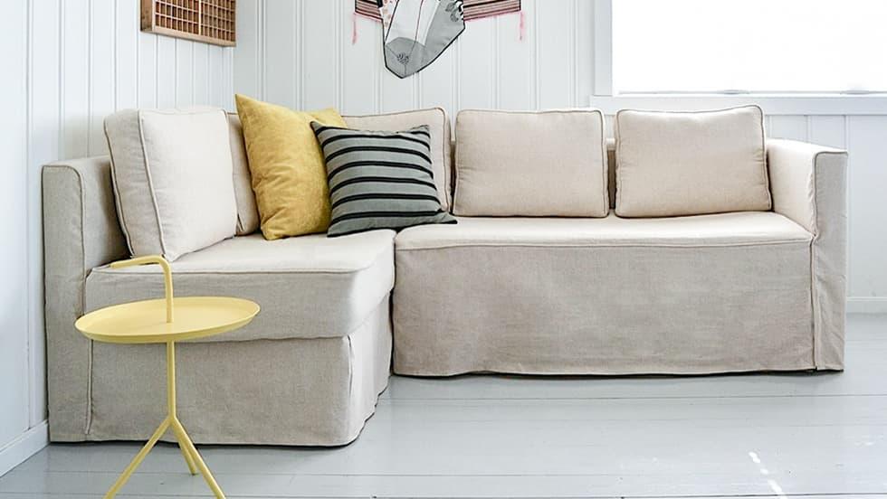 IKEAソファベッドカバー