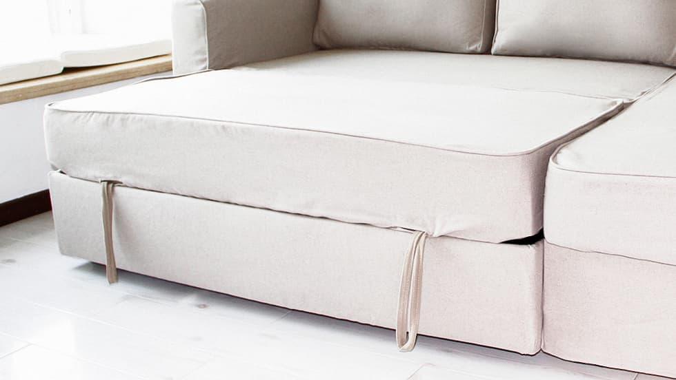housse de remplacement pour le canap convertible ikea. Black Bedroom Furniture Sets. Home Design Ideas