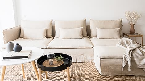IKEA Pottery Barn Muji Karsltad Armchair Sofa Covers Lino Brushed Linen Blends Couch Slipcover Comfort Works
