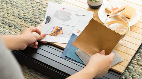 Muji Fabric Sample Sample Booklet Armrest Tray