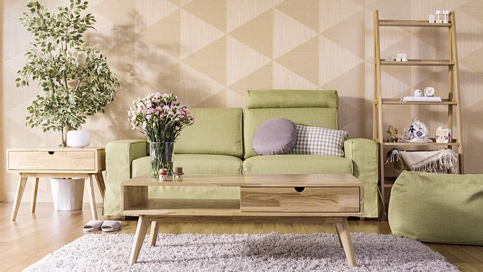 Muji Sofa mit breiten Armlehnen Sitzsack Bezug Kino Willow