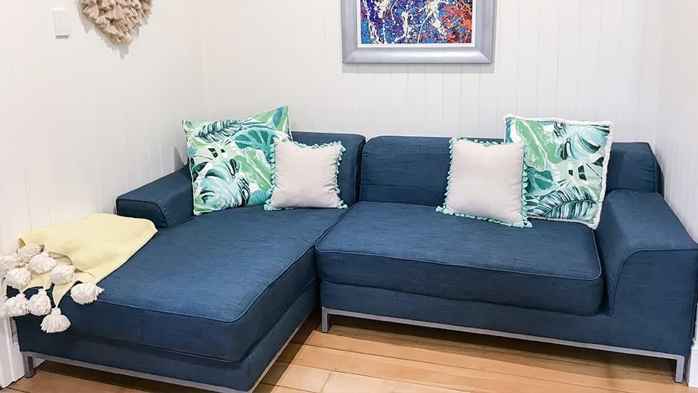 IKEA Kramfors Sofabezug aus Kino Denim