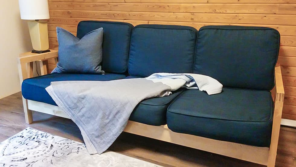 IKEA Lillberg Sofabezug aus Kino Navy