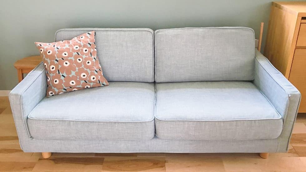 Muji Sofa Covers Slim Arm Sofa Kino Frost Heavy Duty Couch Slipcover