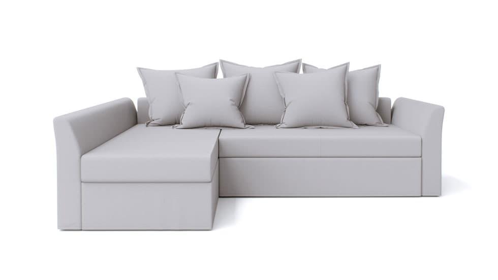 IKEA Holmsund Sofabezug Gaia Fog Baumwolle