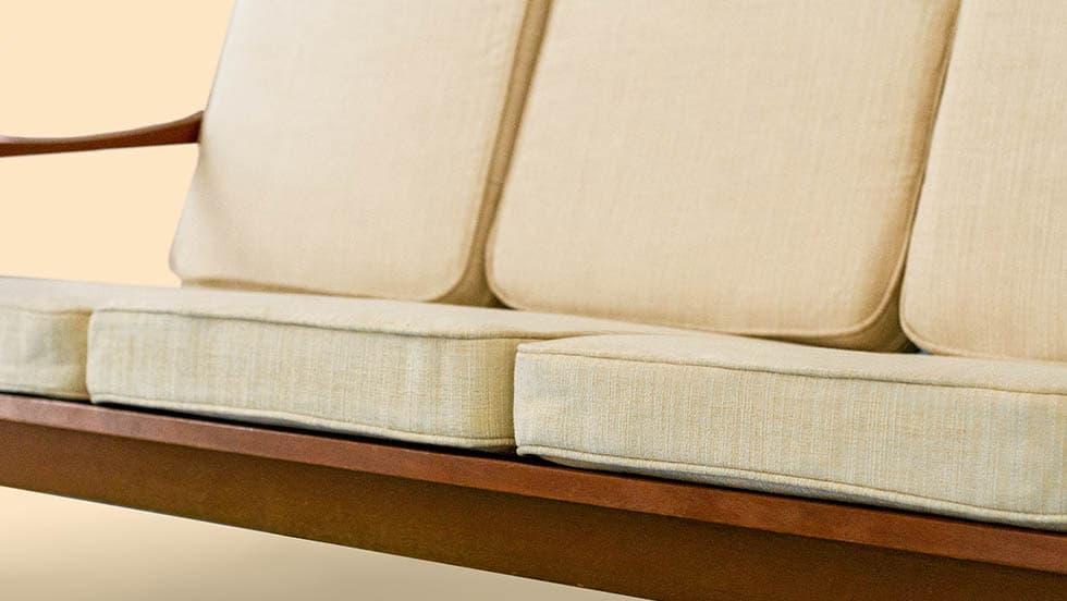 Housse sur mesure de coussin de coussin d'assise