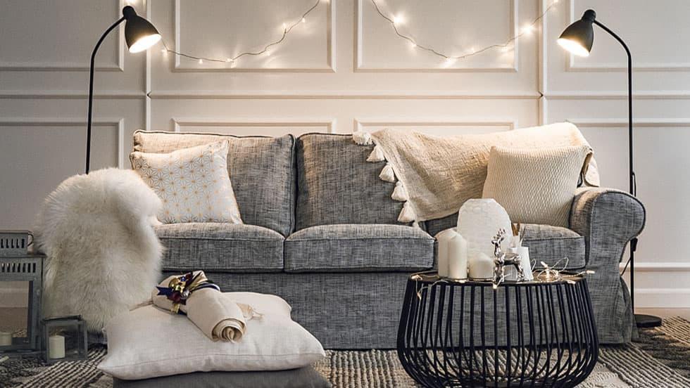 housse de canap fauteuil canap d 39 angle pour ikea ektorp. Black Bedroom Furniture Sets. Home Design Ideas