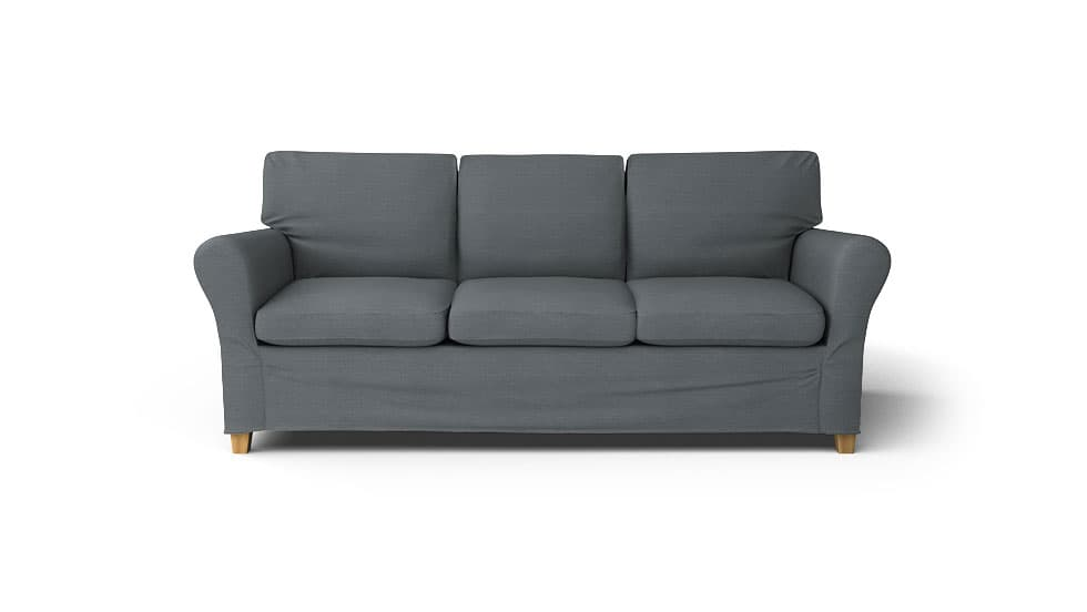 IKEA Angby Sofa Covers Kino Charcoal Heavy Duty Couch Slipcover