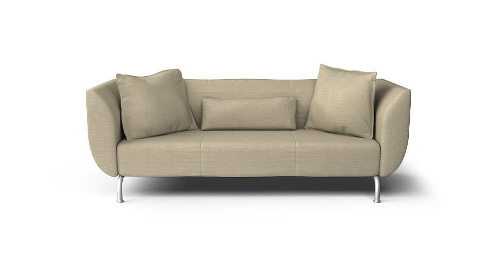 IKEA Stromstad Sofabezug Nomad Sand Baumwollmischung