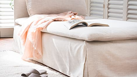 IKEA Soderhamn Sofabezug aus Luna Flax Leinen
