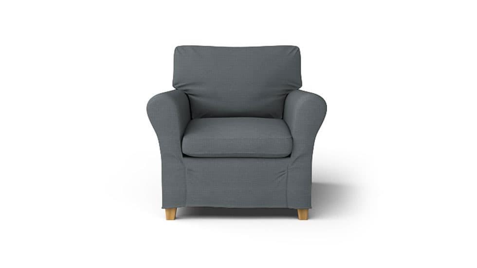 housse pour le fauteuil ikea angby. Black Bedroom Furniture Sets. Home Design Ideas