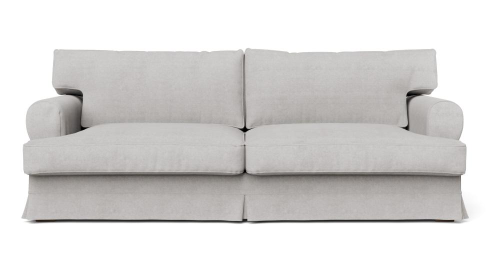 Magnificent L Seats Loose Fit Round Arm Loveseat Slipcover Creativecarmelina Interior Chair Design Creativecarmelinacom