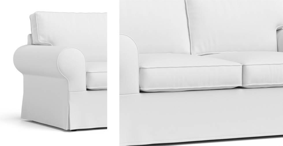 2 Zits Bedbank.Hoes Ektorp 2 Zits Slaapbank Comfort Works