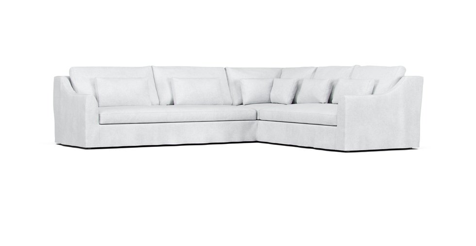 Phenomenal Farlov 5 Seat Sectional Cover Left Side Sofa Comfort Works Bralicious Painted Fabric Chair Ideas Braliciousco