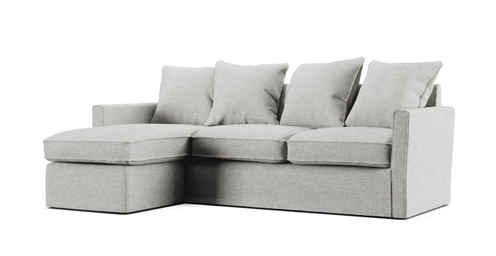 Harnosand 2 Seater Chaise Lounge Sofa Cover