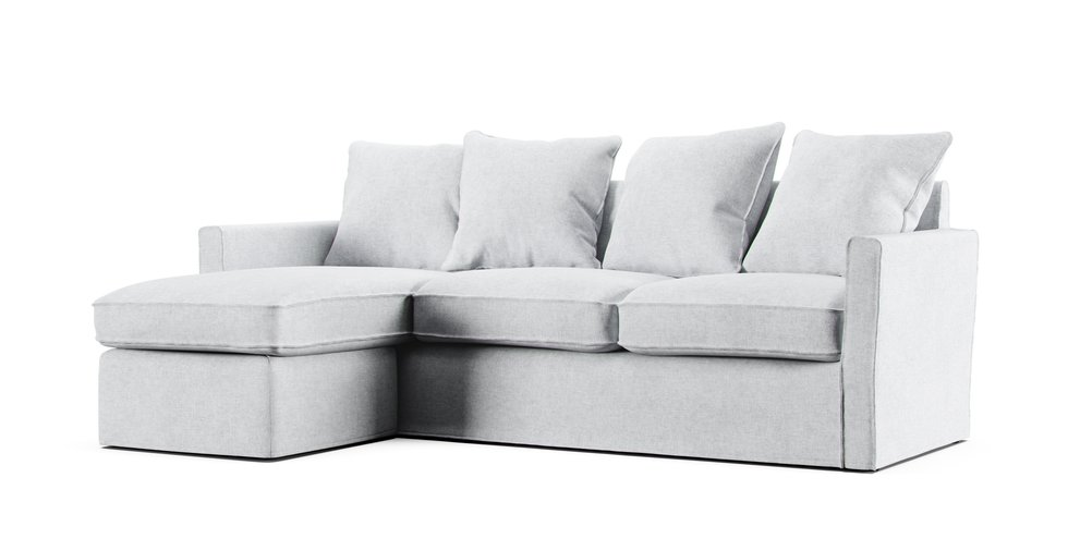 Harnosand 2 Seater Chaise Lounge Sofa