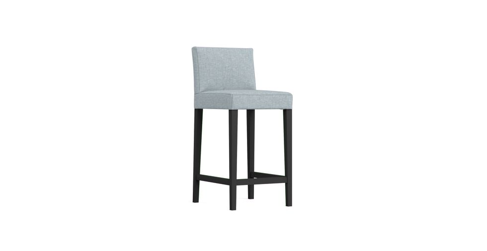 The PU Leather Henriksdal Bar Stool With Backrest Cover Replacement Henriksdal Cover on