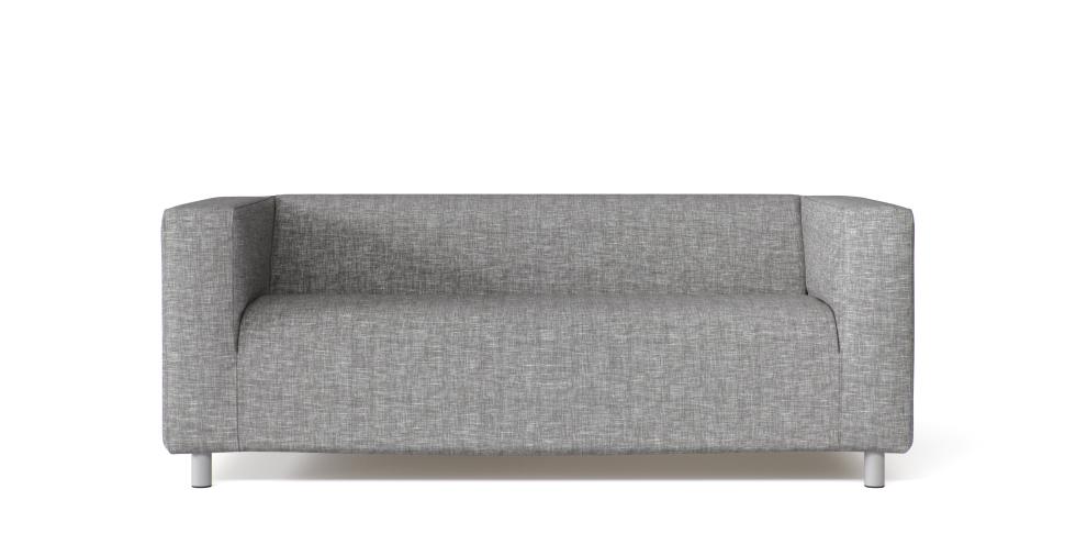 Klippan 2 seater sofa custom cover slipcover to fit ikea - Funda sofa ikea ...
