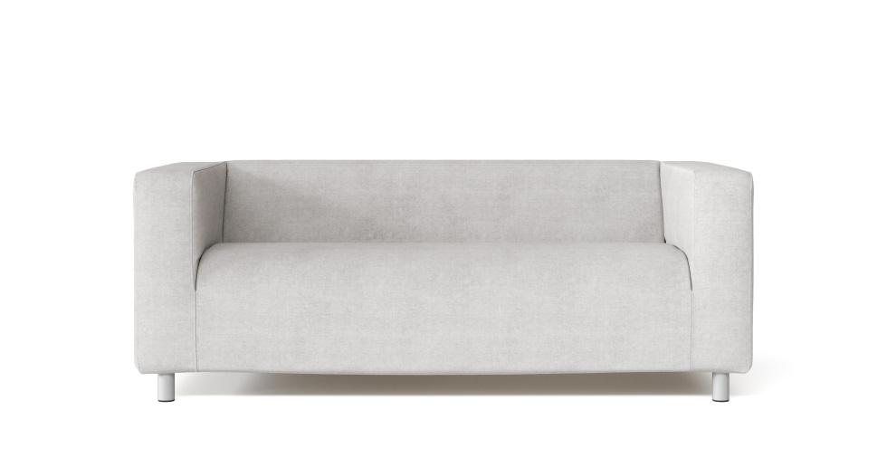 Sofa Slip Replacement Cover For Ikea Klippan 2 Seater Sofa In