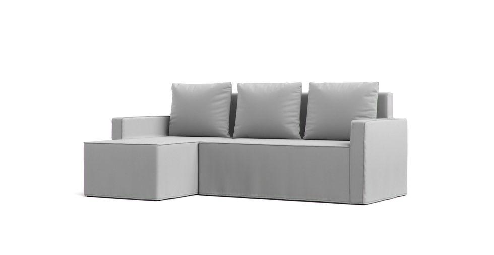 Lugnvik Divano letto con Chaise Longue sul lato sinistro | Comfort Works