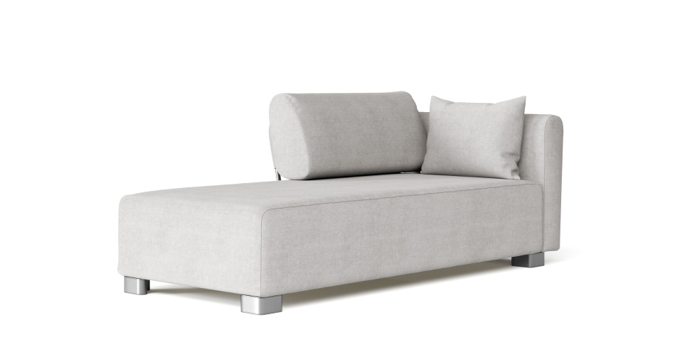 Mysinge Chaise Lounge Left, Right Sofa Cover