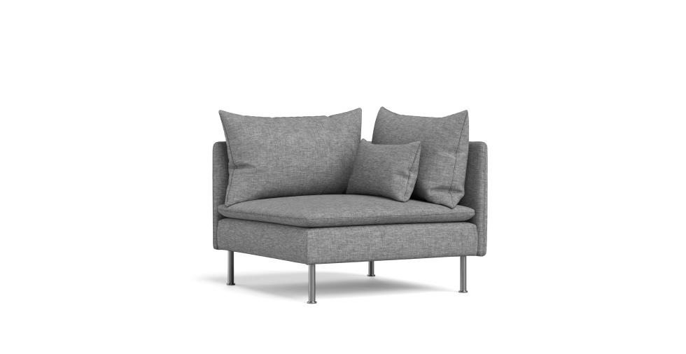soderhamn corner section sofa cover - beautiful custom slipcovers
