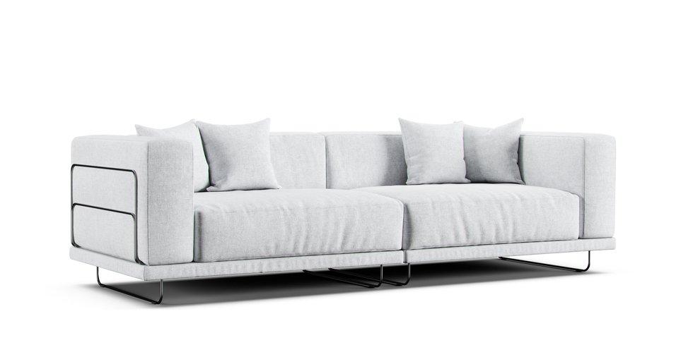 Hoekbank Ikea Tylosand.Tylosand 3 Seater Sofa Slipcover Comfort Works