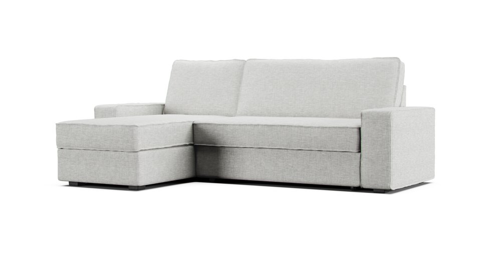 Vilasund cover sofa bed with chaise longue size sofa the for Chaise longue sofa bed reviews