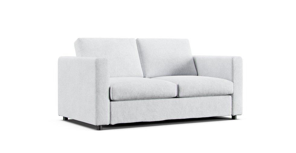 Surprising Vimle Loveseat Andrewgaddart Wooden Chair Designs For Living Room Andrewgaddartcom